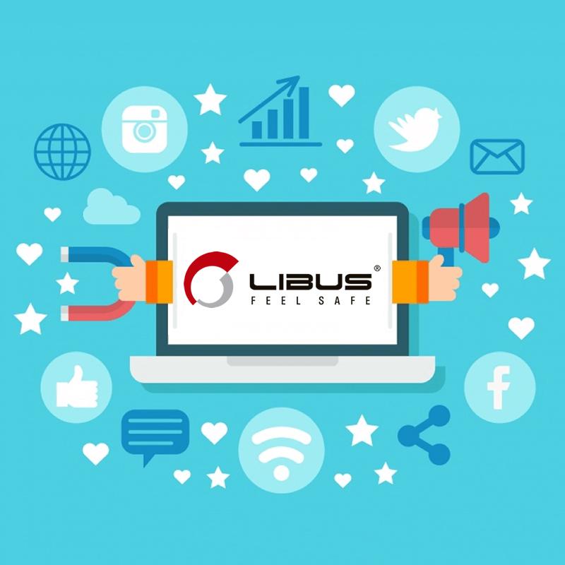 Pack de recursos para redes sociales de Libus