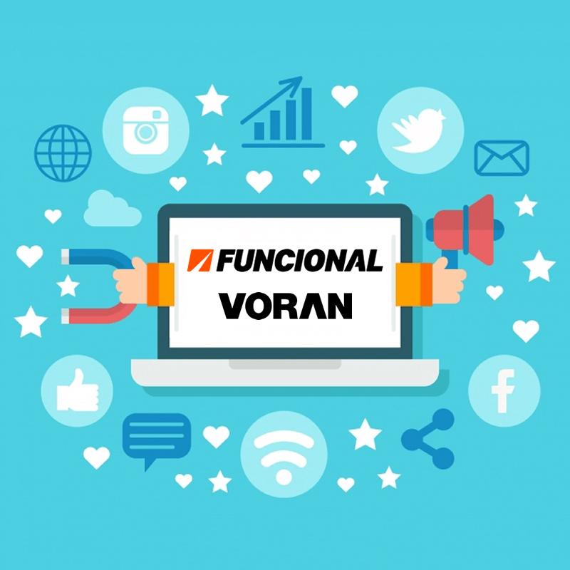 Pack de recursos para redes sociales de Funcional y Voran
