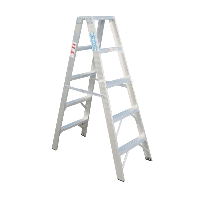 Escalera de aluminio tijera doble pintor 7 escalones for Escaleras 10 peldanos de tijera