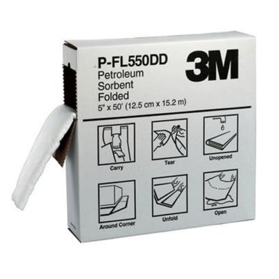 3M ABSORBENTE P-FL550DD PARA HIDROCARBUROS PLEGADO (51822)