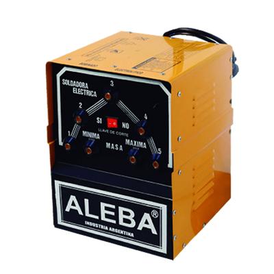 ALEBA SOLDADORA ELÉCTRICA MONOFÁSICA 170 AMPERES (SOL-200)