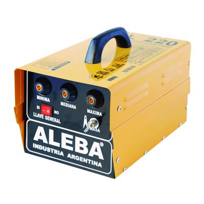 ALEBA SOLDADORA ELÉCTRICA MONOFÁSICA 150 AMPERES (SOL-220)