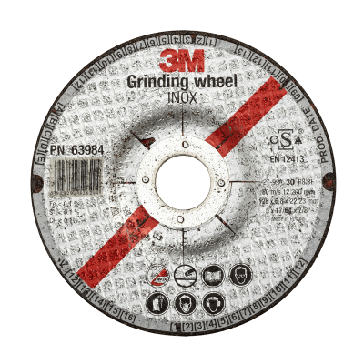 3M DISCO DE AMOLAR 180X6X22.2MM GRANO 24 (59005)
