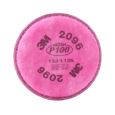 3M FILTRO 2096 P100 PARA PARTÍCULAS Y GASES ÁCIDOS (31910)