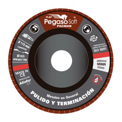 PEGASO DISCO FLAP SOFT 115 mm