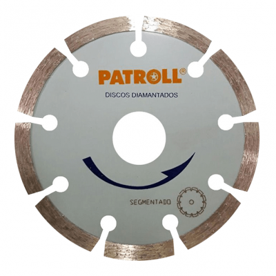 PATROLL DISCO DIAMANTADO SEGMENTADO 4.5