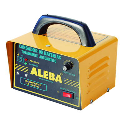 ALEBA CARGADOR DE BATERÍAS (CAR-006)