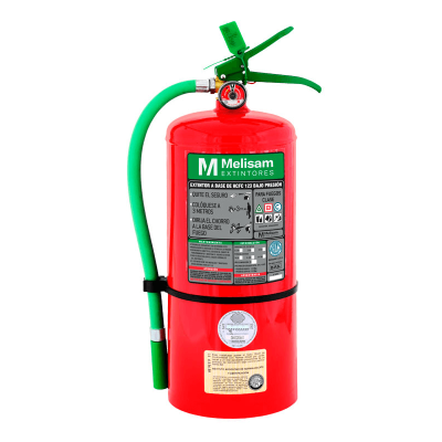 MELISAM EXTINTOR HCFC 123 CLASE ABC 2.5KG (EXHCF002)