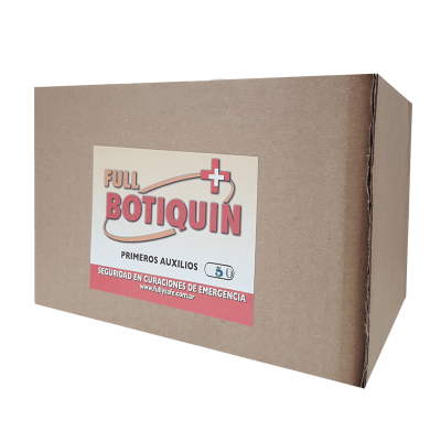 BOTIQUÍN (KIT DE REPOSICIÓN N°501) 25 ELEMENTOS