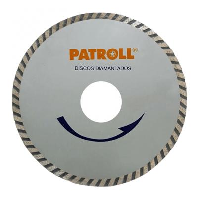 PATROLL DISCO DIAMANTADO TURBO FINO 4.5