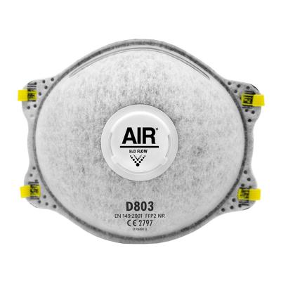 AIR RESPIRADOR DESCARTABLE D803 FFP2 NR CON VÁLVULA
