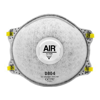 AIR RESPIRADOR DESCARTABLE D804 FFP2 NR CON VÁLVULA